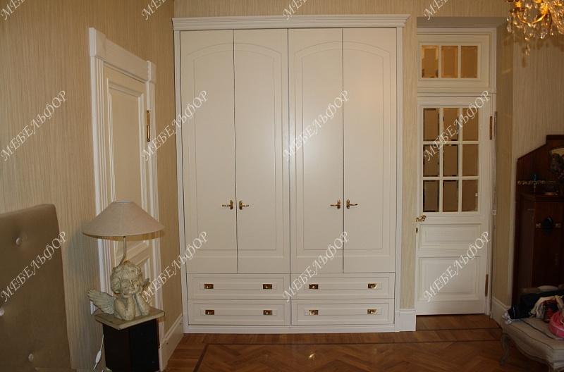 Шкафы верона (мдф, эмаль; мебельная фанера).