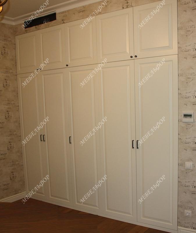 Шкаф вилен, встроенный (мдф, эмаль).